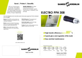 Leaflet PPH 308 Rotary Bell Atomizer (English version) SAMES KREMLIN