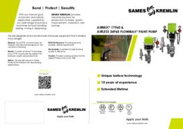 Leaflet 17F60 Flowmax® Airmix® 34F60 Airless (English version) SAMES KREMLIN