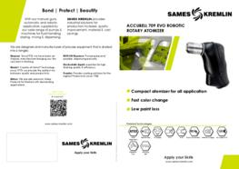 Leaflet Accubell 709 EVO Robotic Rotary Atomizer (English version) SAMES KREMLIN