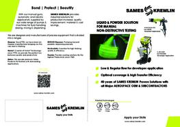 Leaflet e-Jet 2 NDT (English version) SAMES KREMLIN