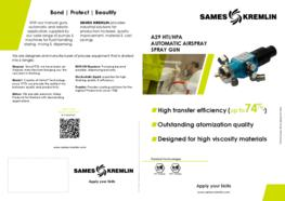 Leaflet A29 HPA Automatic Airspray Spray Gun (English version) SAMES KREMLIN