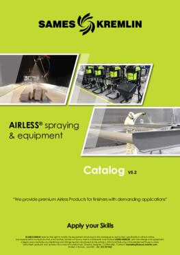 Catalog Airless Range SAMES KREMLIN (English version)