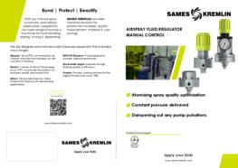 Leaflet Airspray fluid regulator (English version) SAMES KREMLIN
